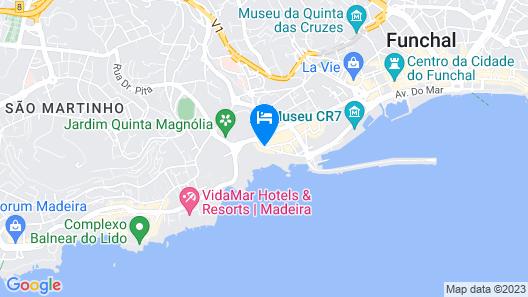 Pestana Carlton Madeira Ocean Resort Hotel Map