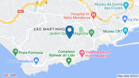Madeira Panoramico Hotel Map