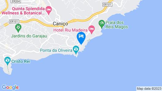 Caniço Bay Club Map