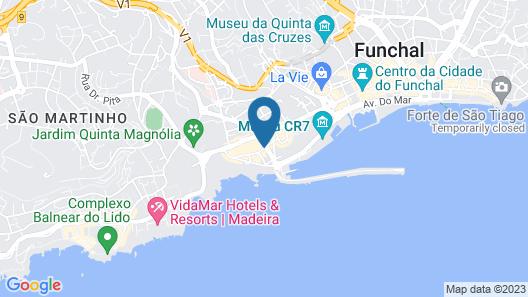 Hotel Quinta da Penha de França Map