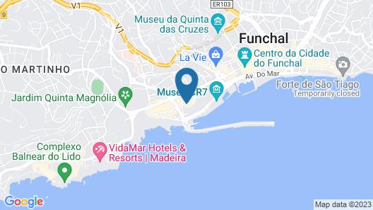 Pestana Casino Park Ocean and SPA Hotel Map
