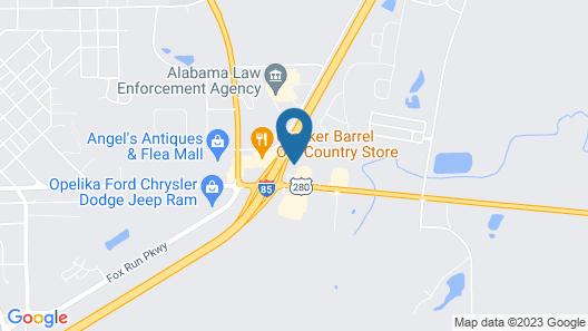 Quality Inn Opelika - Auburn Map