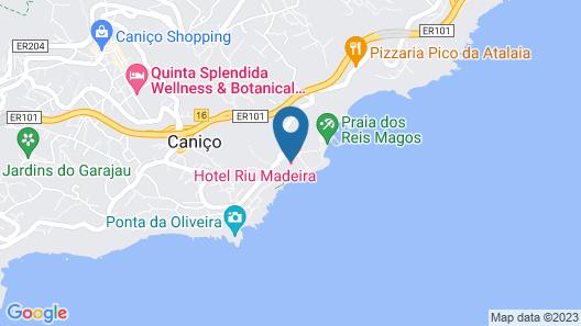 Hotel Riu Palace Madeira Map
