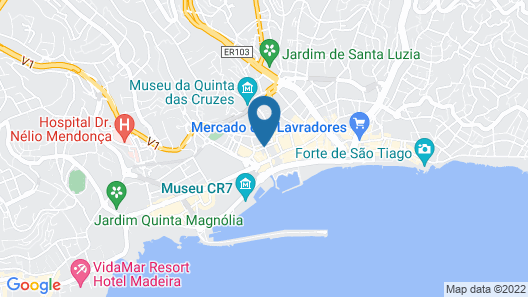 Hotel Madeira Map