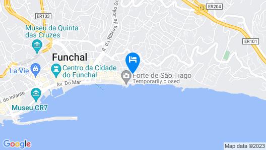 Quinta Bela Sao Tiago Map