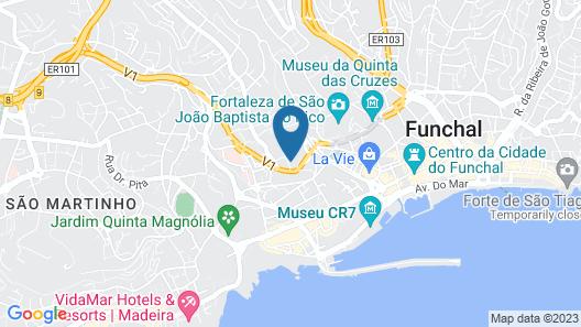 Hotel Quintinha São João & Spa Map