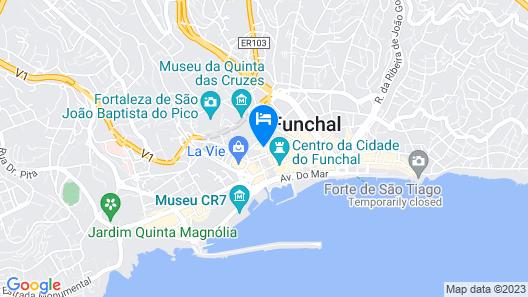 Hotel Caju Map