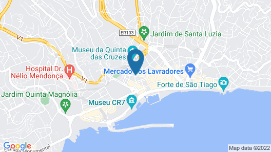 Residencial Colombo Map