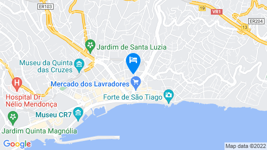 Hotel do Carmo Map