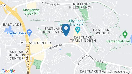 Hampton Inn Chula Vista Eastlake Map