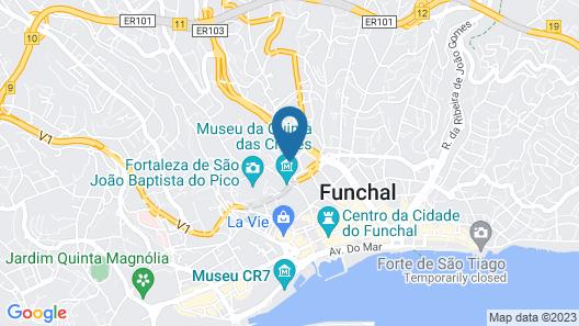 Hotel Monte Carlo Map