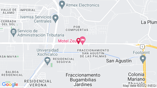 Motel Fronorte - Adults Only Map