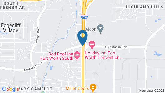 Comfort Suites Fort Worth South Map