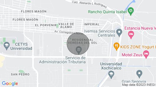 Condominio 804 Corona del sol en Puerto Peñasco Mexico en la Playa de las Concha Map