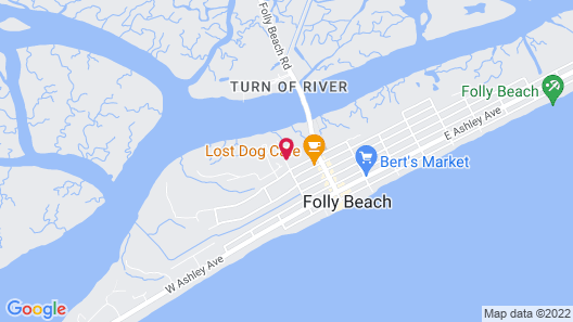 Water's Edge Inn - Adults Only Map