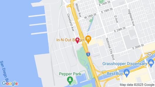 Best Western Plus Marina Gateway Hotel Map