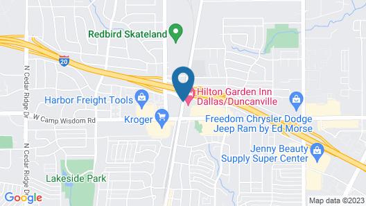Hilton Garden Inn Dallas/Duncanville Map