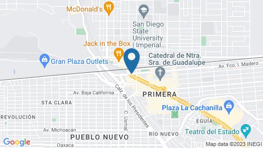 Hotel del Norte Map