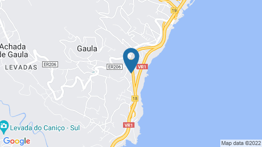 House With 2 Bedrooms in Gaula, With Wonderful sea View and Enclosed Garden Map