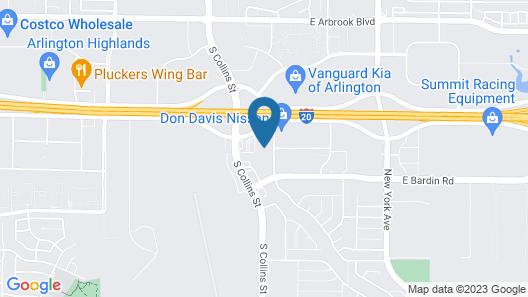 Homewood Suites by Hilton Dallas Arlington South Map
