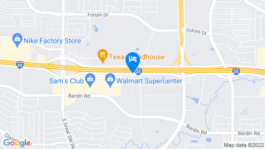 La Quinta Inn & Suites by Wyndham Dallas Grand Prairie South Map
