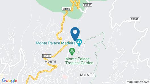 Quinta do Monte Panoramic Gardens Map
