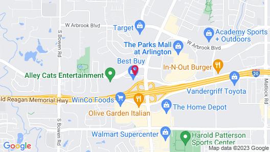 Holiday Inn Express Arlington, an IHG Hotel Map