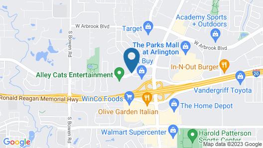 Days Inn by Wyndham Arlington Map