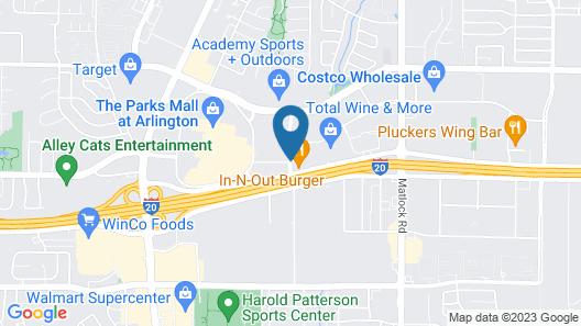 La Quinta Inn & Suites by Wyndham Dallas Arlington South Map