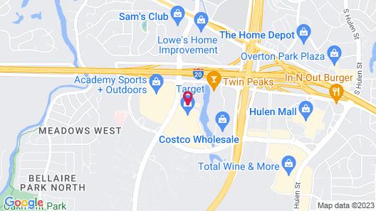 Hyatt Place Fort Worth Cityview Map