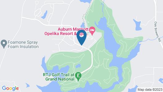 Auburn Marriott Opelika Resort & Spa at Grand National Map