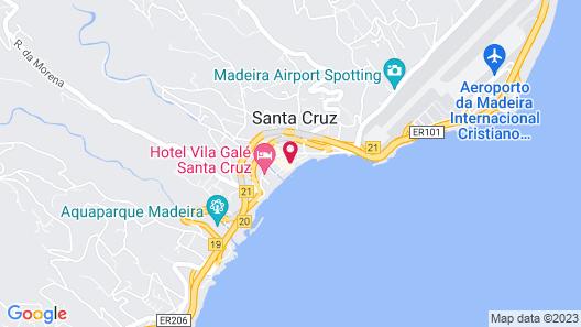 Santa Cruz Boutique Hotel Map