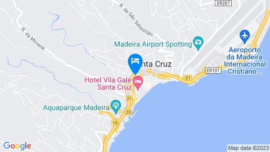 Santa Cruz Village Hotel Map