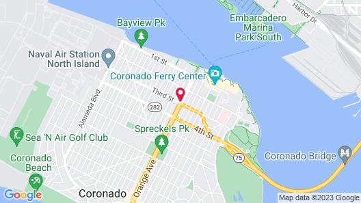 Coronado INN Map