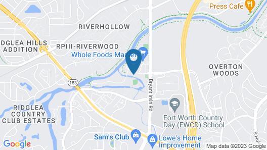 Residence Inn by Marriott Fort Worth Southwest Map