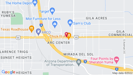 Days Inn by Wyndham Yuma Map