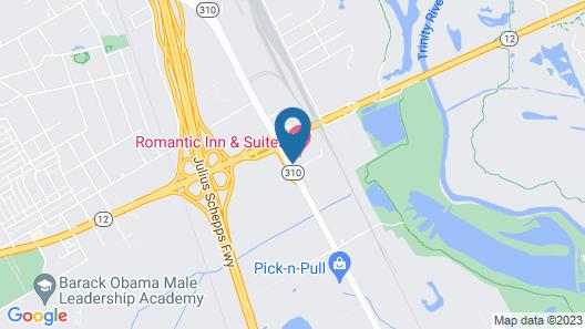 Romantic Inn & Suites Map