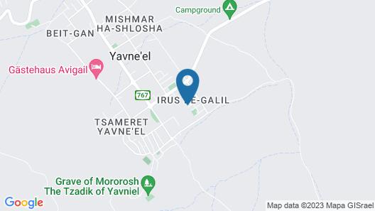 Nof glili Mansion Map