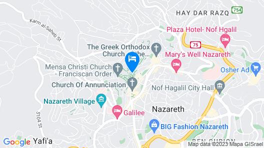Fauzi Azar by Abraham Hostels Map