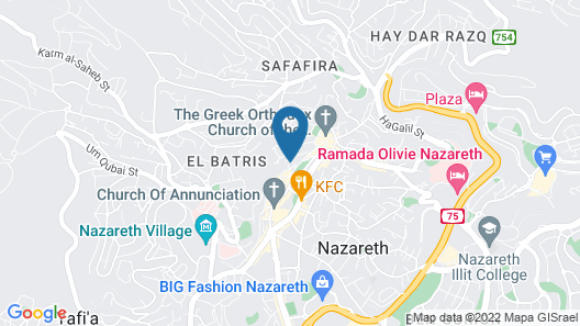 Al Bishara Guest house Map