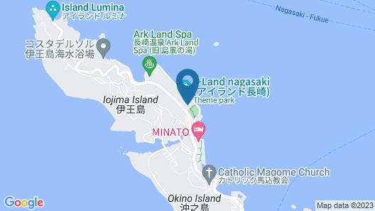 i+Land nagasaki Map
