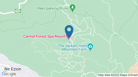 Carmel Forest Spa Resort Map