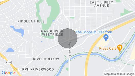 Spacious and Adorable 2b/2b Near Downtown & TCU Map