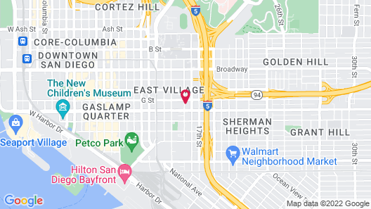 Stay Alfred on G Street Map