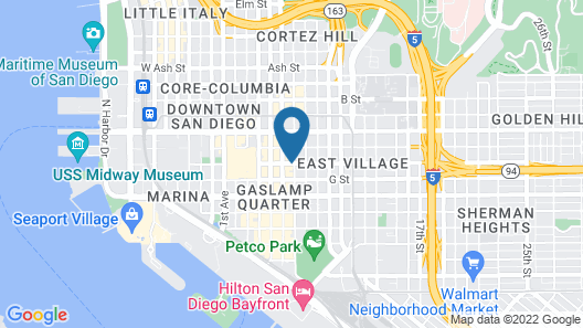 Andaz San Diego - a concept by Hyatt Map