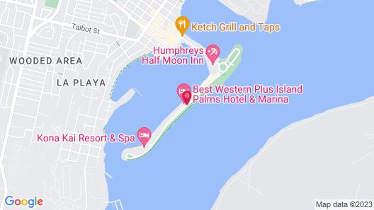 Best Western Plus Island Palms Hotel & Marina Map