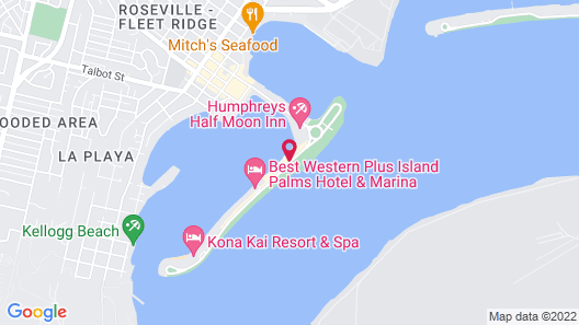 Bay Club Hotel & Marina Map