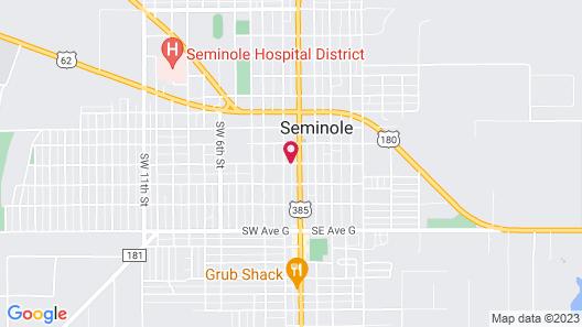 Best Western Plus Seminole Hotel & Suites Map