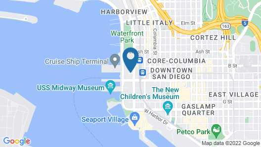 Residence Inn by Marriott San Diego Downtown/Bayfront Map