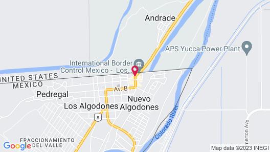Hacienda Los Algodones Map